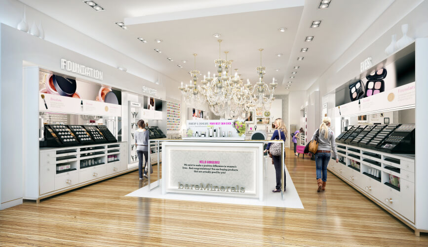 Bare Escentuals Approached Pompei C3 With The Challenge To Elevate Their  Store Experience To Match The Quality Of Their Products. Having Been Bought  By ...