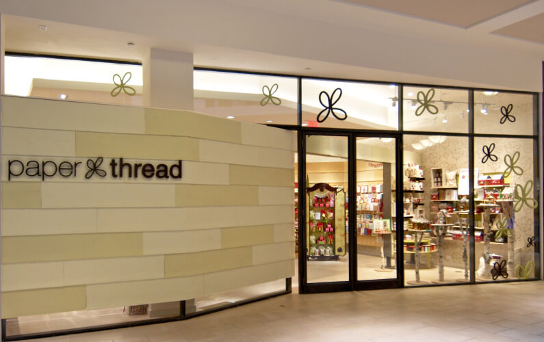 Pompei c3 paper thread pompei c3 and the well known us greeting card company american greetings worked together to create a new retail concept that will transform the greeting m4hsunfo
